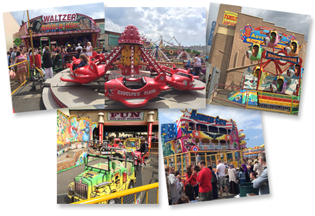 The Biggest And Best Open Air Funfair In New Brighton On The Wirral New Palace And Adventureland